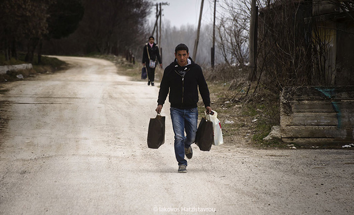 Illegal immigrants in Evros
