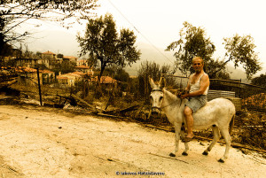 GREECE - PELOPONESE - DISASTER